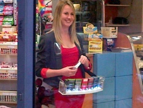 British American Tobacco sales lady SA