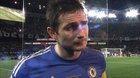 Lampard blames wasted chances