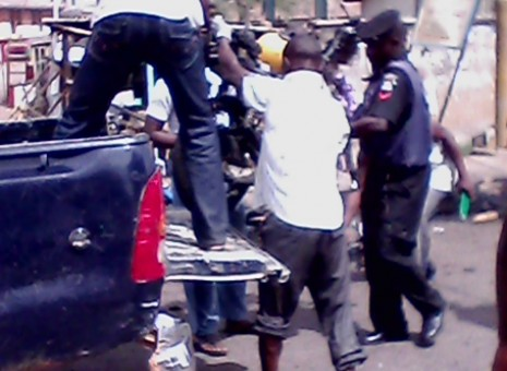 PHOTO NEWS: Explosion rocks Kaduna