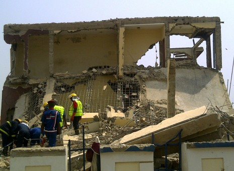 Two dead, five rescued alive in Abuja building collapse