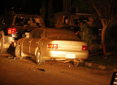 Six cars damaged in midnight explosion in Abuja