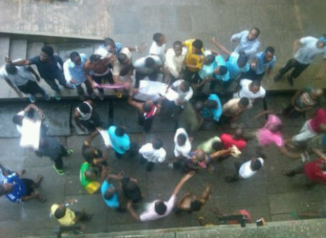 UNILAG students protest naming of varsity after Abiola