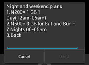 glo weekend plan