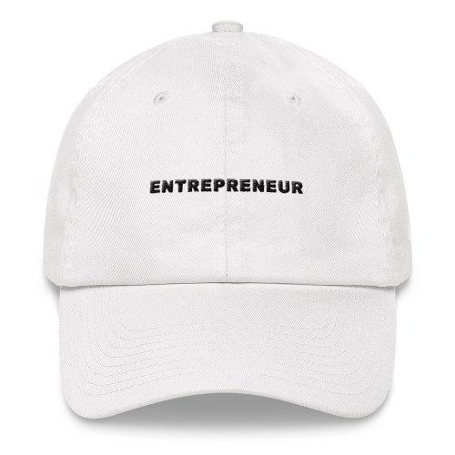 Entrepreneur Cap (White)