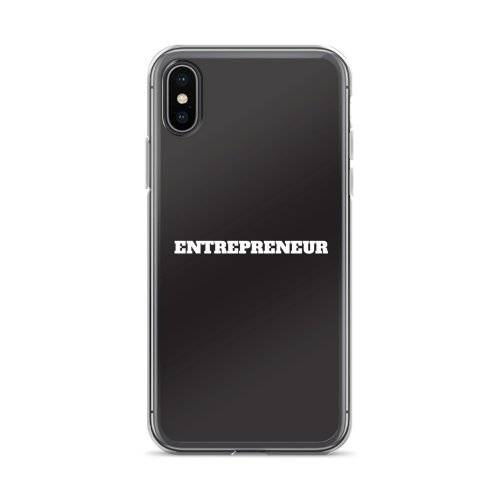 Entrepreneur iPhone Case