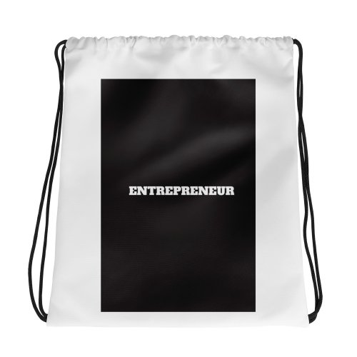 Entrepreneur Drawstring bag