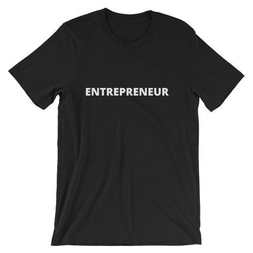 Entrepreneur Unisex T-Shirt (Dark)