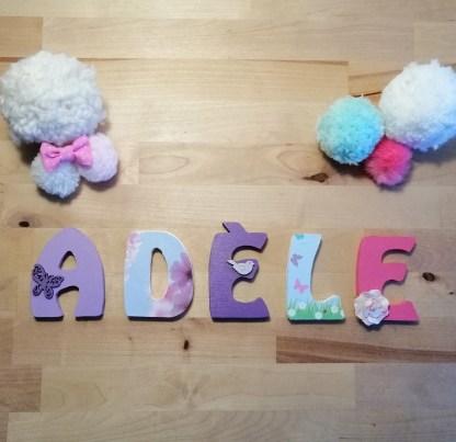 Adèle prénom bois