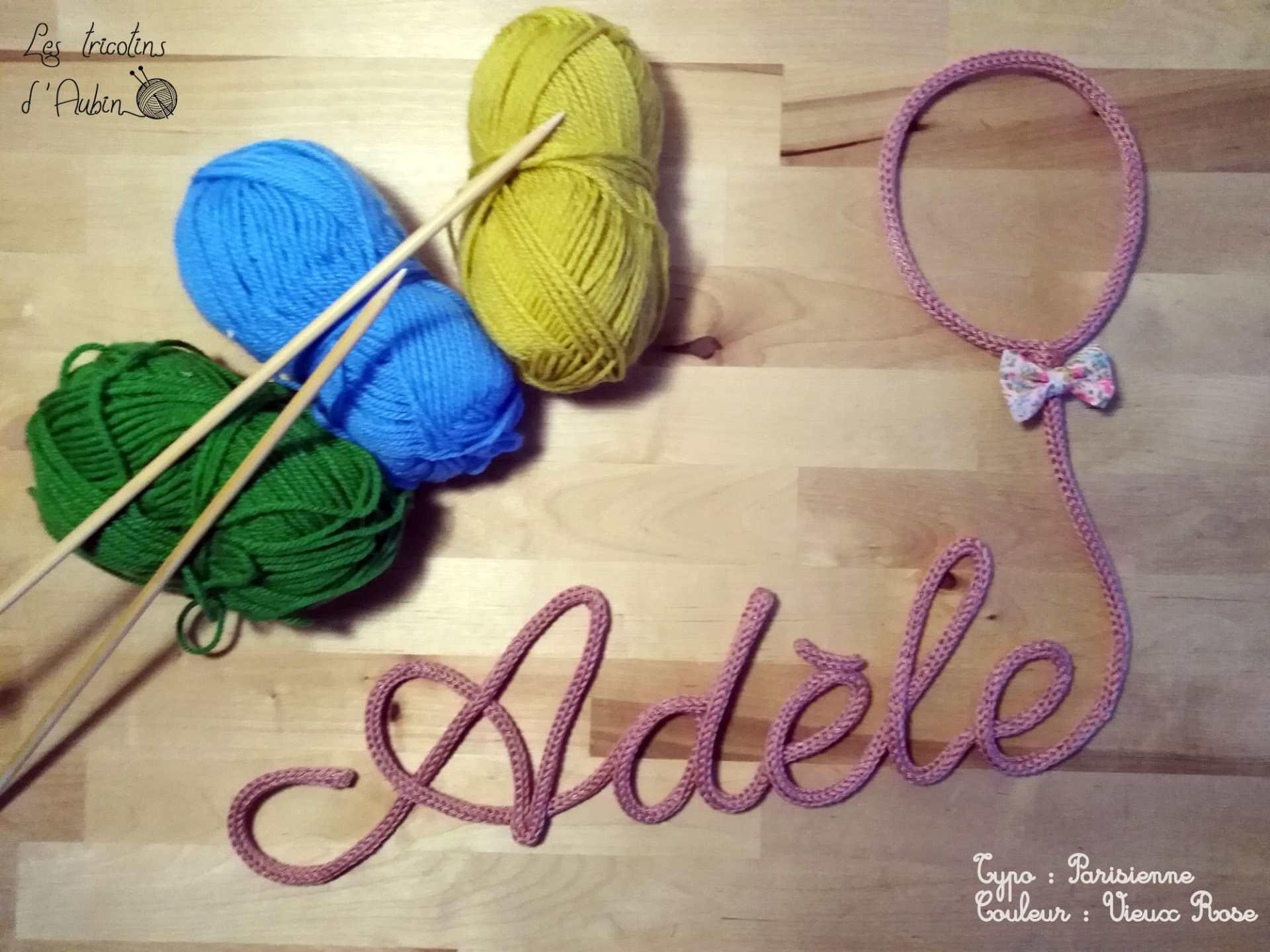 Adèle en tricotin