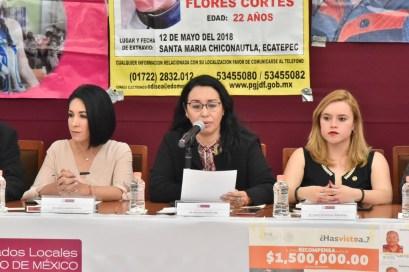 Impulsarán diputadas, funcionarios y familiares de víctimas acciones para combatir los feminicidios