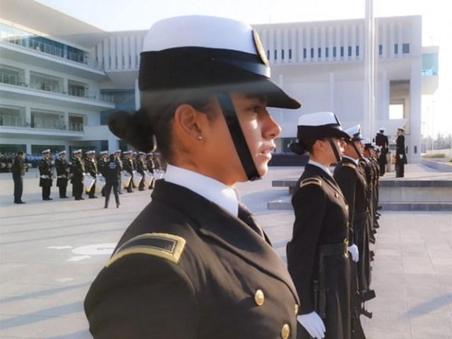 """La Secretaría de la Defensa Nacional también se suma al paro del 9 de marzo; de esta manera, las Fuerzas Armadas apoyan al movimiento """"Un Día sin Nosotras"""". Foto: @SEMAR_mx"""