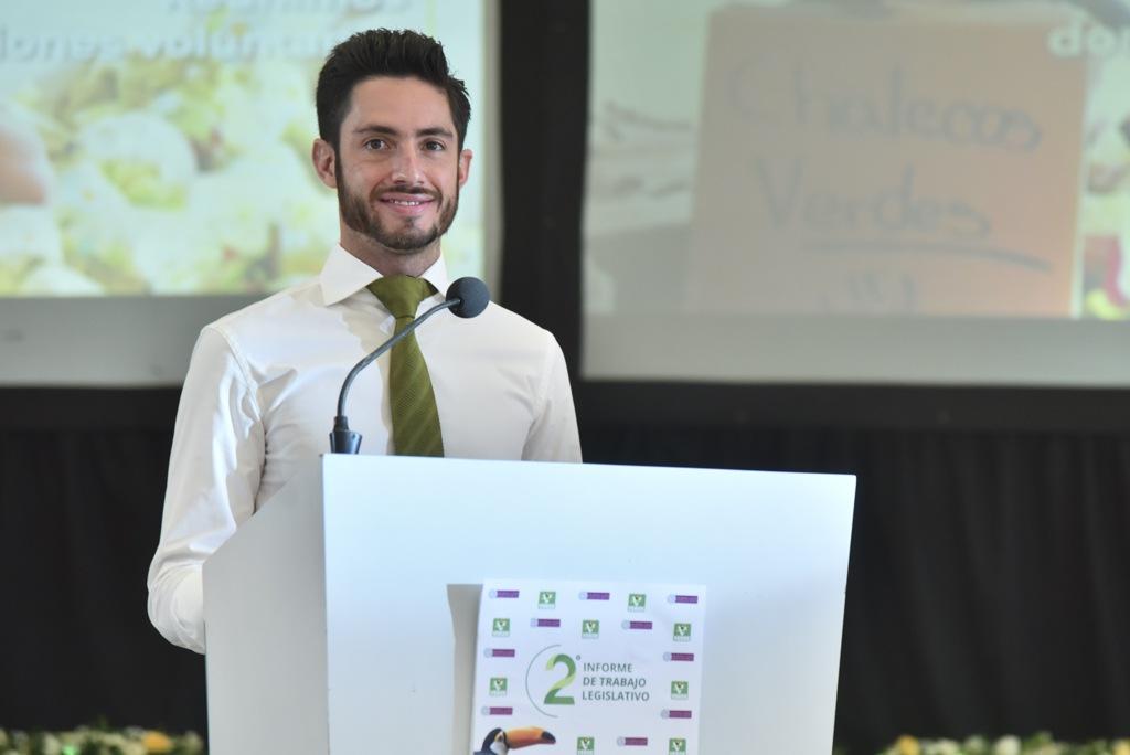 El PVEM refreda su compromiso por alcanzar un desarrollo sustentable