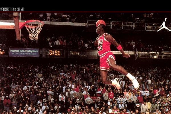 Image result for michael jordan dunk on Ewing 600 x 400