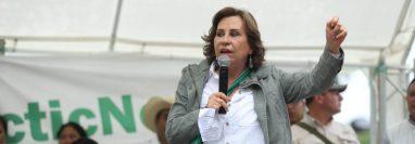 La UNE está en la mira por parte de las autoridades electorales para que se inicie el trámite de cancelación, su excandidata Sandra Torres está ligada a proceso penal. (Foto Prensa Libre: Hemeroteca PL)