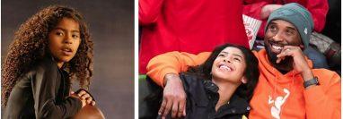 Gianna Bryant siempre compartió con su padre el amor por el baloncesto. (Foto Prensa Libre: AFP)
