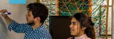 La unión entre Banco Industrial y Multiverse permite que emprendedores puedan acceder a capacitaciones y talleres de alto nivel. Foto Prensa Libre: Cortesía.
