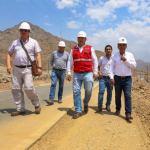 Asfaltado de vía Cerro Blanco – La Tranca tiene 12% de avance