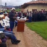 Comuneros se resisten al diálogo con empresa minera en el Cerro El Toro