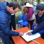 Rondas campesinas se comprometen a luchar contra minería ilegal en el Cerro El Toro