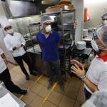 Está listo el protocolo de bioseguridad para la entrega a domicilio de comida por restaurantes y servicios afines