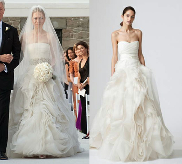 Celebrity Wedding Dresses At A Fraction Of The Cost
