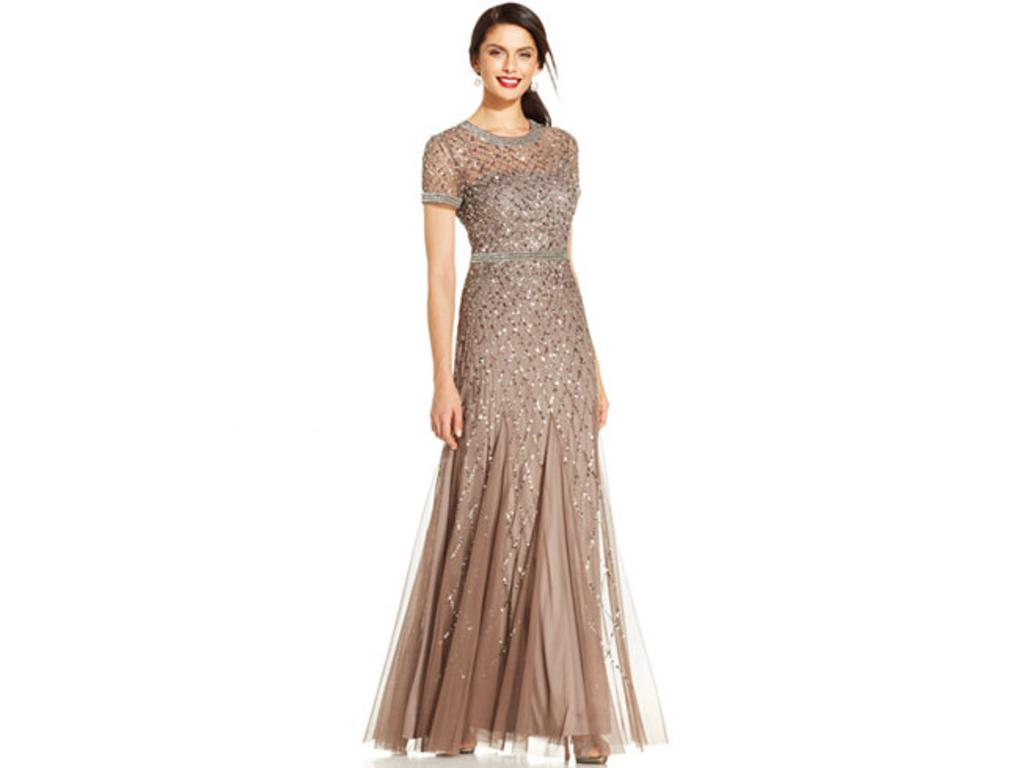 Adrianna Papell Beaded Gown Lead