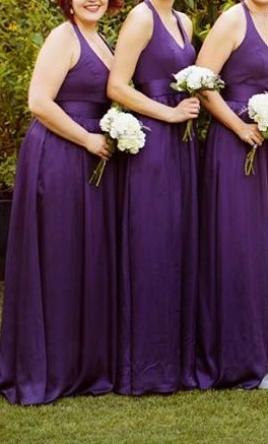 Vera Wang White VW360214  Size  12   Bridesmaid Dresses Pin it      Vera Wang White VW360214 12