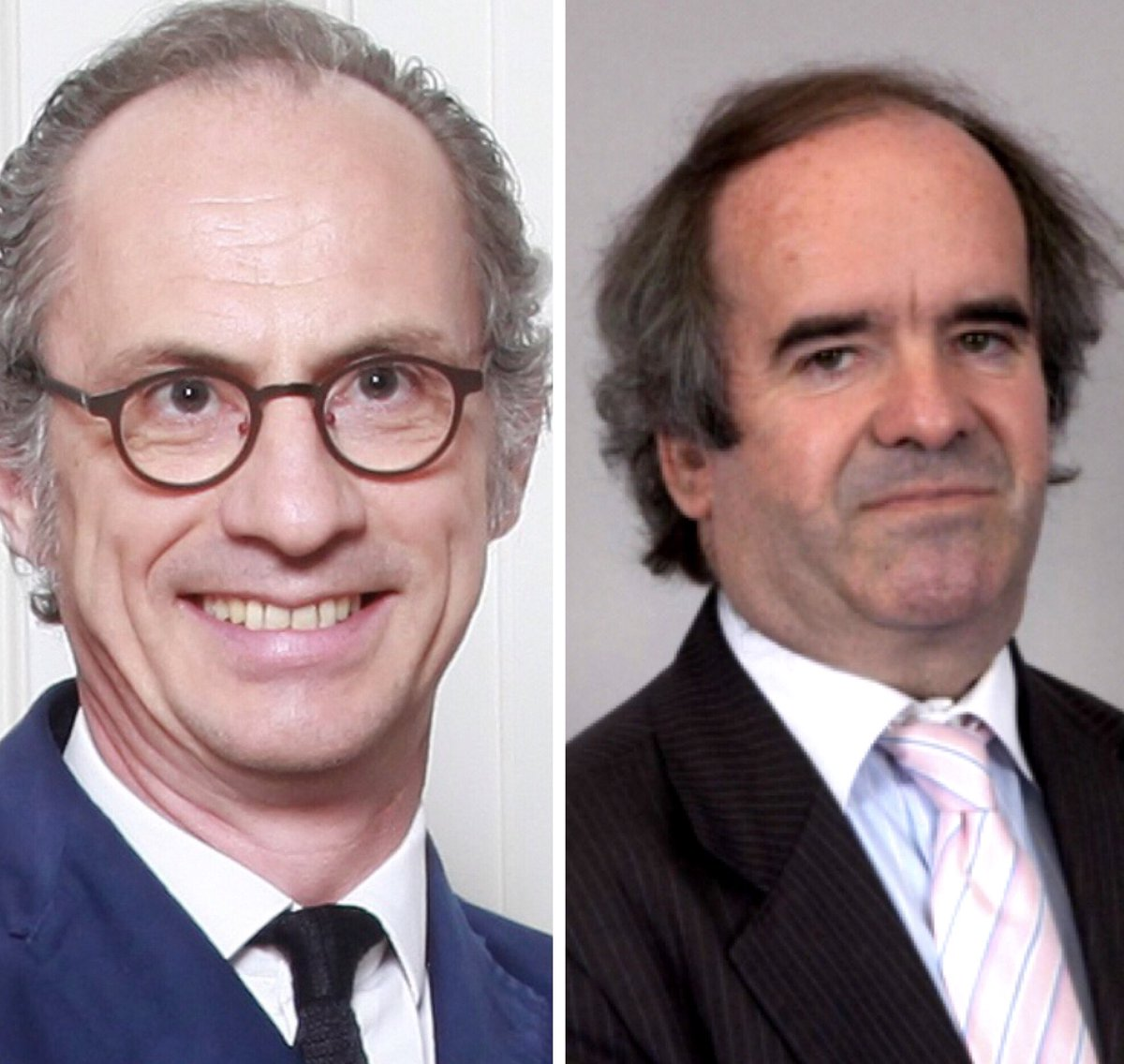 Emmanuel Combe et Didier Marteau