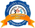 Best Prepaid Card Award Badge