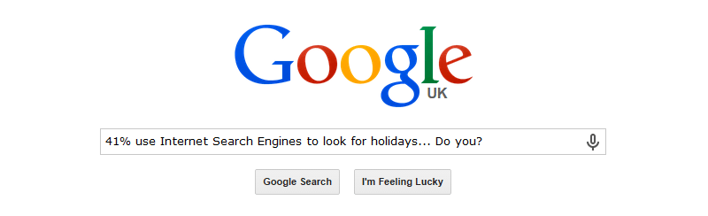 Searching for the perfect holiday