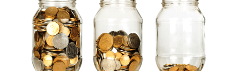 Saving in Jam Jars