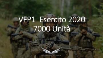 bando concorso vfp1 esercito 2020