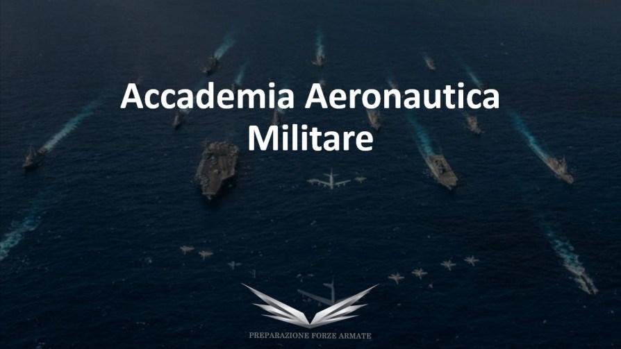 libro concorso ufficiale Accademia Aeronautica Militare