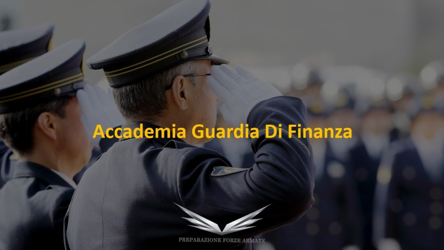 libro concorso Accademia allievi ufficiali guardia di finanza