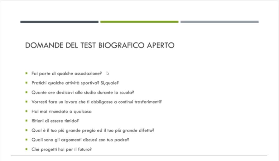 test psico attitudinali concorso accademia esercito ufficiali