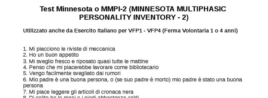 test psico attitudinali concorso accademi allievi ufficiali esercito italiano