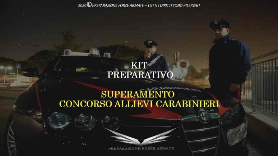 Libro concorsi allievi carabinieri 2021