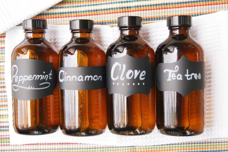 Herbal Two-Ingredient Mouthwash - can be made with four different flavors for variety