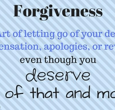 5 Steps to ForGive, For Good