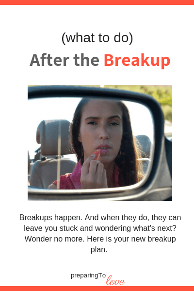 After breaking up