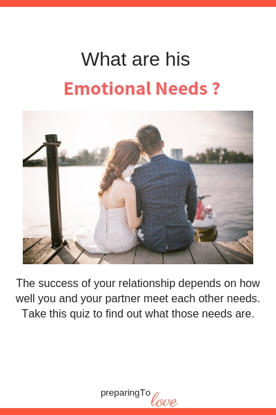 Emotional Needs for couples