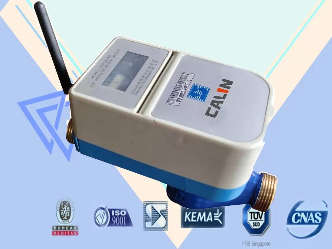 Smart Gprs Remote Water Meter Reading Muti Jet