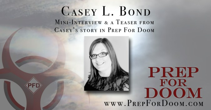 Author Feature Casey Bond