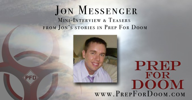 Author Feature Jon Messenger
