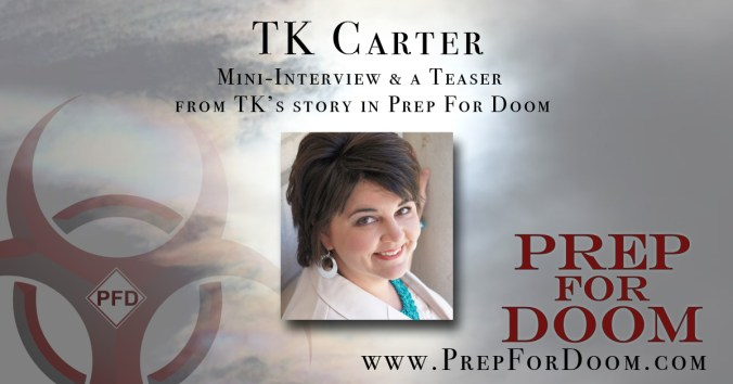 Author Feature TK Carter