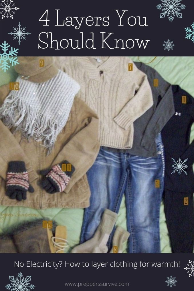 4 Layers You Should Know for Extreme Cold Weather - How to layer clothes for winter