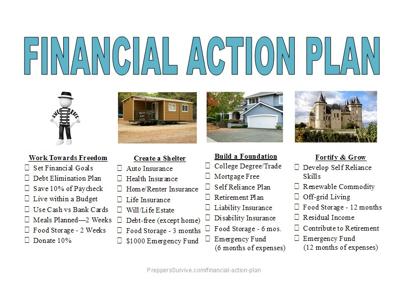 Do You Have a Financial Action Plan? - Preppers Survive