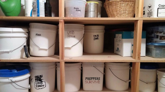 Prepper's Pantry - Food Storage Pictures
