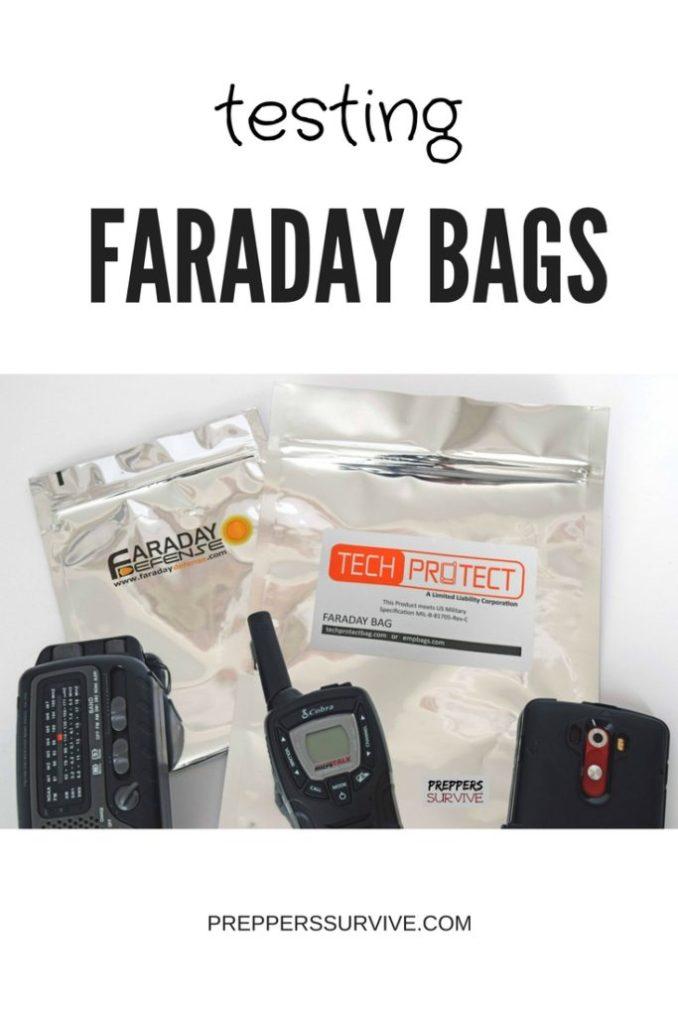 Testing Mylar Faraday Bags