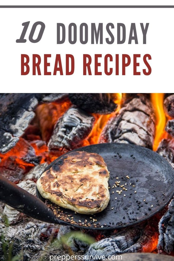 10 Yeast-free Bread Recipes with Few Ingredients for Preppers